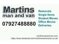Removals, deliveries, single items