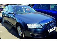 AUDI A6 2006 116,000 MILES 2.7 DIESEL SEMI-AUTO SALOON BLUE
