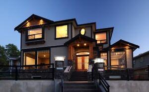 CUSTOM HOMES, FULL HOME RENOVATIONS, BASEMENT RENOVATIONS