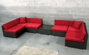 Brand New 7 Piece Patio Set- Assorted Colour Options Available