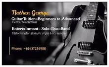 Guitar lessons Cleveland Redland Area Preview