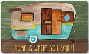 """Home Is Where You park It"" Mat"