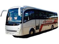 Mini coach, coach hire with driver. Based in Bedford we offer 16 to 39 seats with air conditioning.
