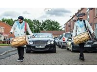 DHOL PLAYERS IN MANCHESTER, ASIAN DJS BRASS BAND BAJA WEDDING DRUMMERS & BHANGRA BOLLYWOOD DANCERS!!