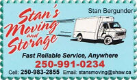 Experienced Mover in Quesnel Booking Now for Local/Long Distance