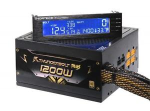 GeIL Thortech Thunderbolt Plus 1200W Gold (PSU) Power Supply with iPower Meter