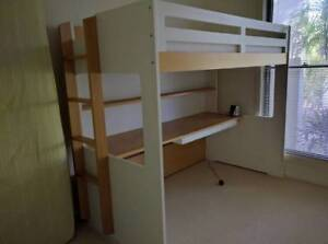 Taylor Loft Bed with Desk, Draw, Shelf and Chair from Snooze Brisbane City Brisbane North West Preview