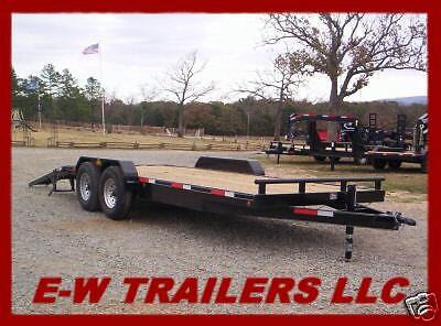 2018 New 18 Plus 2 Bumper Pull Lowboy Trailers