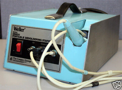 Weller Ds600 Portable Desoldering Station W Ec234 Iron