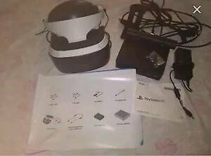 PS4 VR headset   headphones   cabels