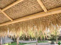 Palm Leaf Thatch Roofing, 35''W x 60'L
