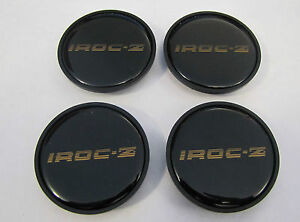 "85 to 87 Camaro IROC 16"" Wheel Center Inserts Gold"