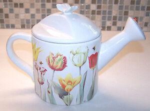 Hallmark Nature's Sketchbook Marjolein Bastin Floral Teapot