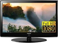 """Samsung 40"""" Widescreen LCD Full HD(1080p) TV With Remote & Built-In Freeview"""