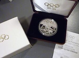 1992 Canada RCM $15 Dollar Silver Proof Coin with COA and Case