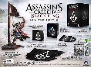 Assassin creed black flag special edition $30obo