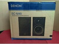 Denon SC-M40 Speaker System 2 way 60w new