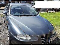 2002 ALFA ROMEO 147 T SPARK LUSSO MOT FULL HISTORY 80K