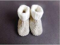 Baby H' Ugg Style Bootees