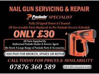 Paslode repair and servicing