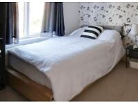 Ikea Double Bed Base With Draws x 4, free headboard included