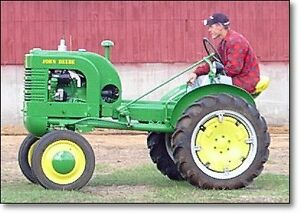 Antique John Deere Tractors