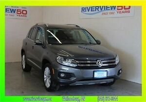 2014 Volkswagen Tiguan Highline - 2.0L Turbo - AWD w/ sunroof