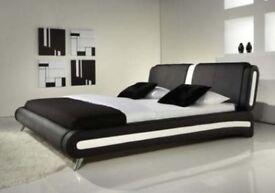 Bed frame & Memory Foam Mattress