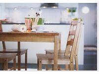 Ikea JOKKMOKK table dismantled ready to take away - super cheap!