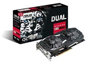 ASUS AMD Radeon RX 580 O4G Dual-Fan OC Edition Carte Graphique