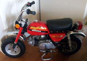 Honda mini trail 50 cc 1978
