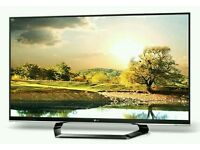"""LG 47"""" LED tv built in HD freeview USB media player full hd 1080p."""