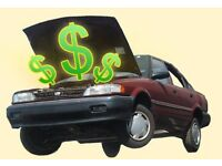 Cash for your scrap car/van m.o.t failure /