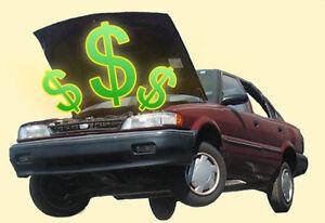 Money for your car -Get cash immediatly- l'argent pour votre car