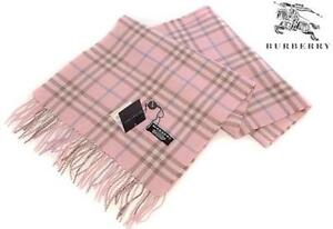 Burberry Scarf (Pink + Baby Blue)