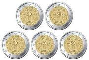 2 Euro Elysee Vertrag