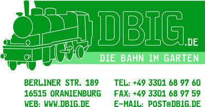 Gartenbahn DBIG Die Bahn Im Garten