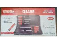 Brand new kennedy pro torq screwdriver set