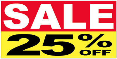 Sale 25 Off Vinyl Banner Clearance Promotion Sign 2x4 Ft - Ryb