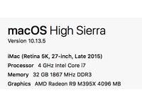 iMac 5k Top Spec