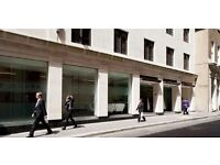 Fully Serviced Private & Co-Working - Old Jewry, Bank, EC4 - Flexible Office Space City of London