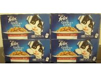 Felix As Good As It Looks Meat Selection in Jelly Cat Food Pouches 96 pk