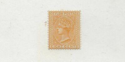 CEYLON QUEEN VICTORIA SC# 92 MNG STAMP