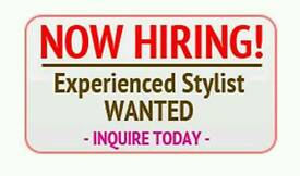 Stylist/beautician/nail technician required