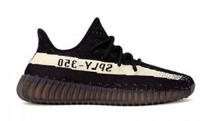 quality design 3034b 5572b adidas Yeezy Boost 350 V2 Men s Trainers Shoes, Size 7 - Black White ...