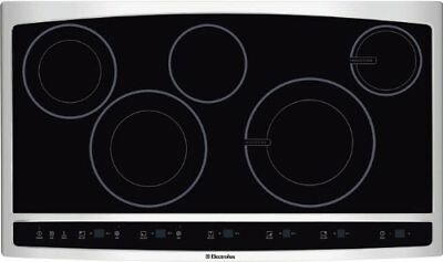 Electrolux 36'' Stainless Steel Induction Hybrid Cooktop EW36CC55GS