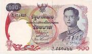 Thailand Paper Money