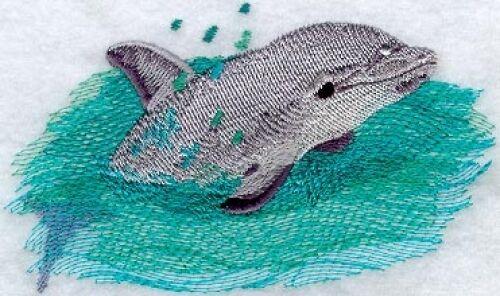 Embroidered Sweatshirt - Baby Dolphin M1310 Sizes S - XXL