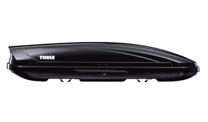 Thule Motion 600 roof box - black 350 litres - near new Narrogin Narrogin Area Preview
