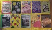 Vintage Crochet Pattern Lot
